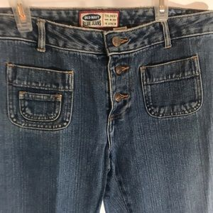 Old navy straight leg crop jeans size 8
